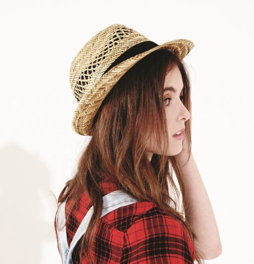 Damen Hut Strohhut für Freizeit Größe L - XL