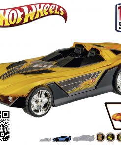 Hot Wheels - Hyper Racer - Light and Sound Yur So Fast Gelb