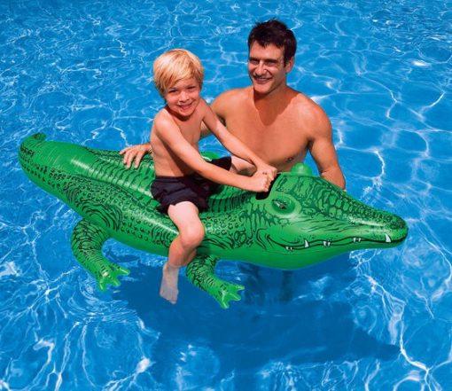 INTEX  Schwimmtier Krokodil