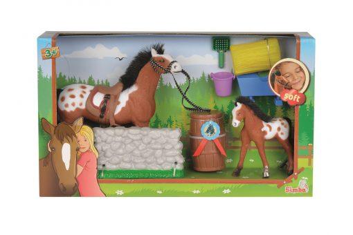 Simba Pferde Puppen Champ. Beauty Parcours