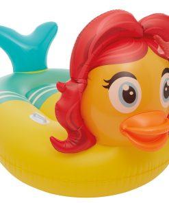 Badeinsel Schwimmtier Floater Ente Meerjungfrau