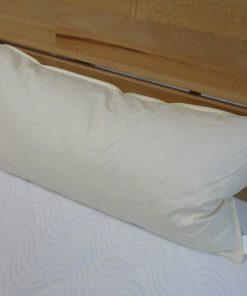 Kopfkissen mit Federfüllung   40 x 80 cm